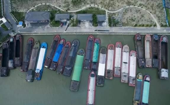 长江首座水上综合生态服务中心进入安装调试阶段