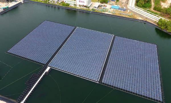 泰国计划建造世界上最大的浮式太阳能发电厂