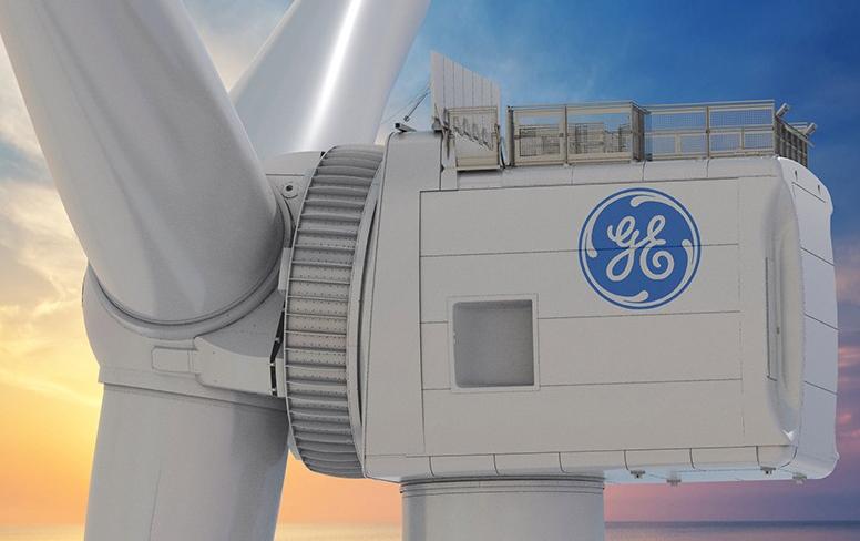 GE Haliade-X 额定功率达14MW的海上机组将于今年夏天在鹿特丹港实验安装