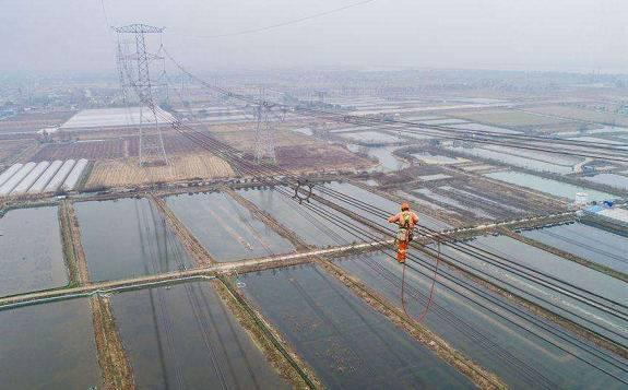 1000千伏皖电东送特高压安塘线改造工程顺利完工,正式通电复役