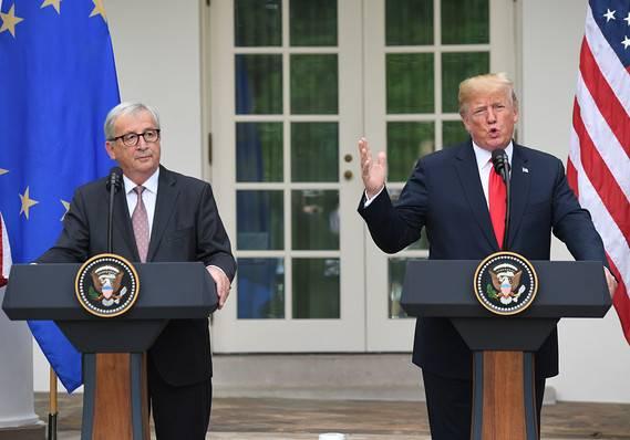 欧盟 - 美国联合声明:从美国进口的液化天然气(LNG)增长181% 将继续增长!