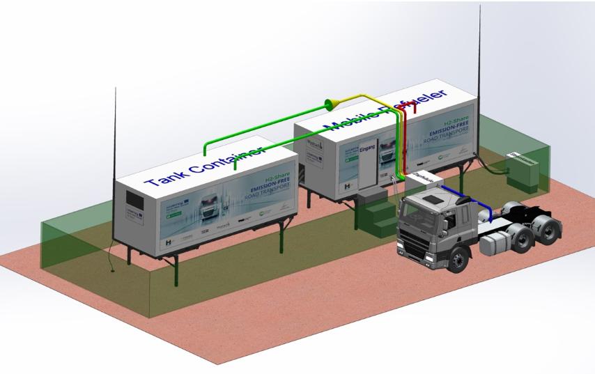国外研究机构公布移动式加氢站公共设计规范