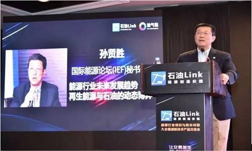 国际能源论坛秘书长孙贤胜:加强国际合作确保能源可持续使用