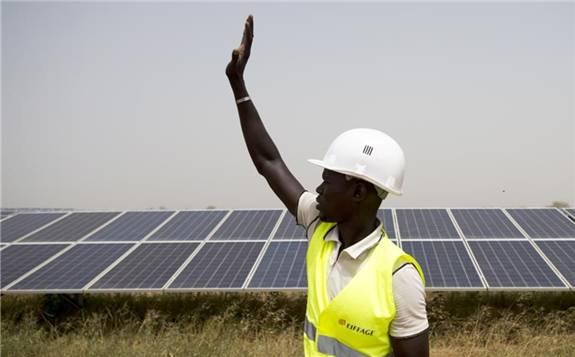 英国将投资肯尼亚的太阳能发电厂