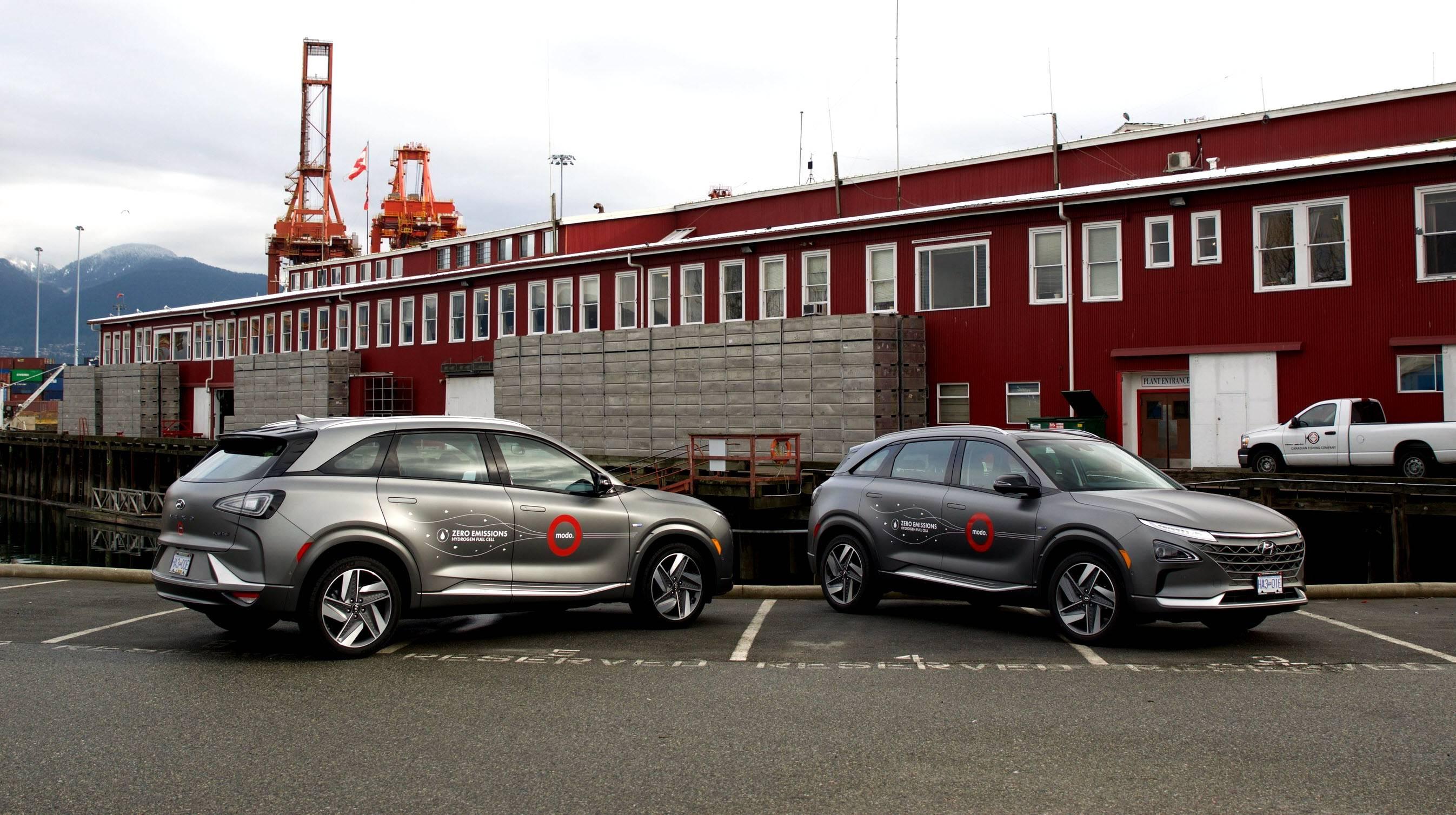现代汽车加拿大公司在全国推出首款由氢气提供动力的NEXO