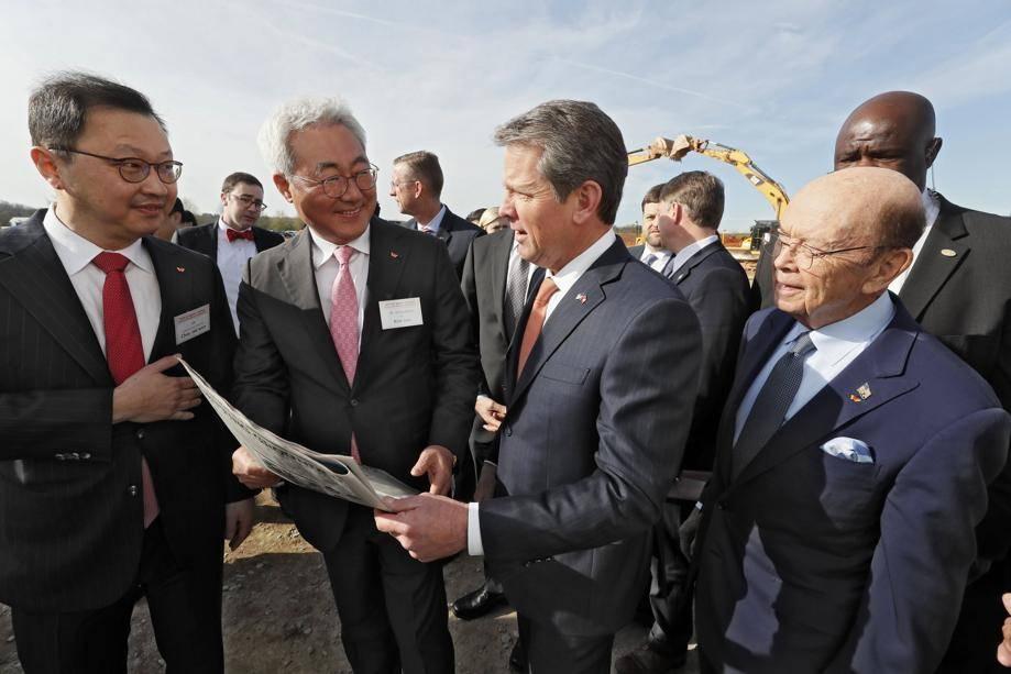 韩国SK Innovation投资17亿美元在美国建大型汽车电池生产厂