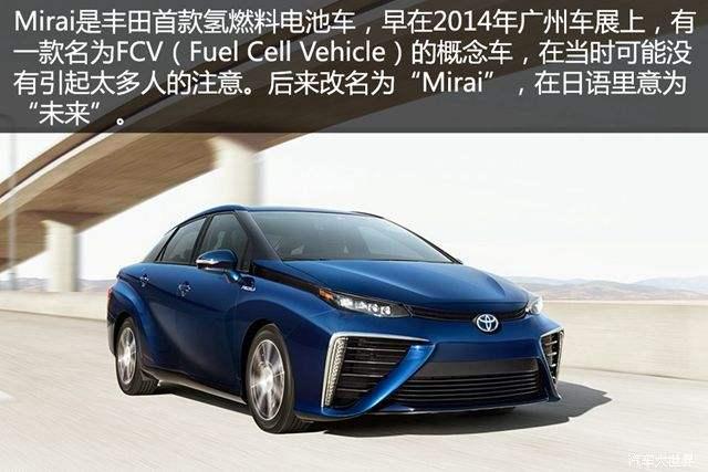 """丰田氢燃料电池技术独遭""""全球围剿"""" 它到底有多厉害?"""