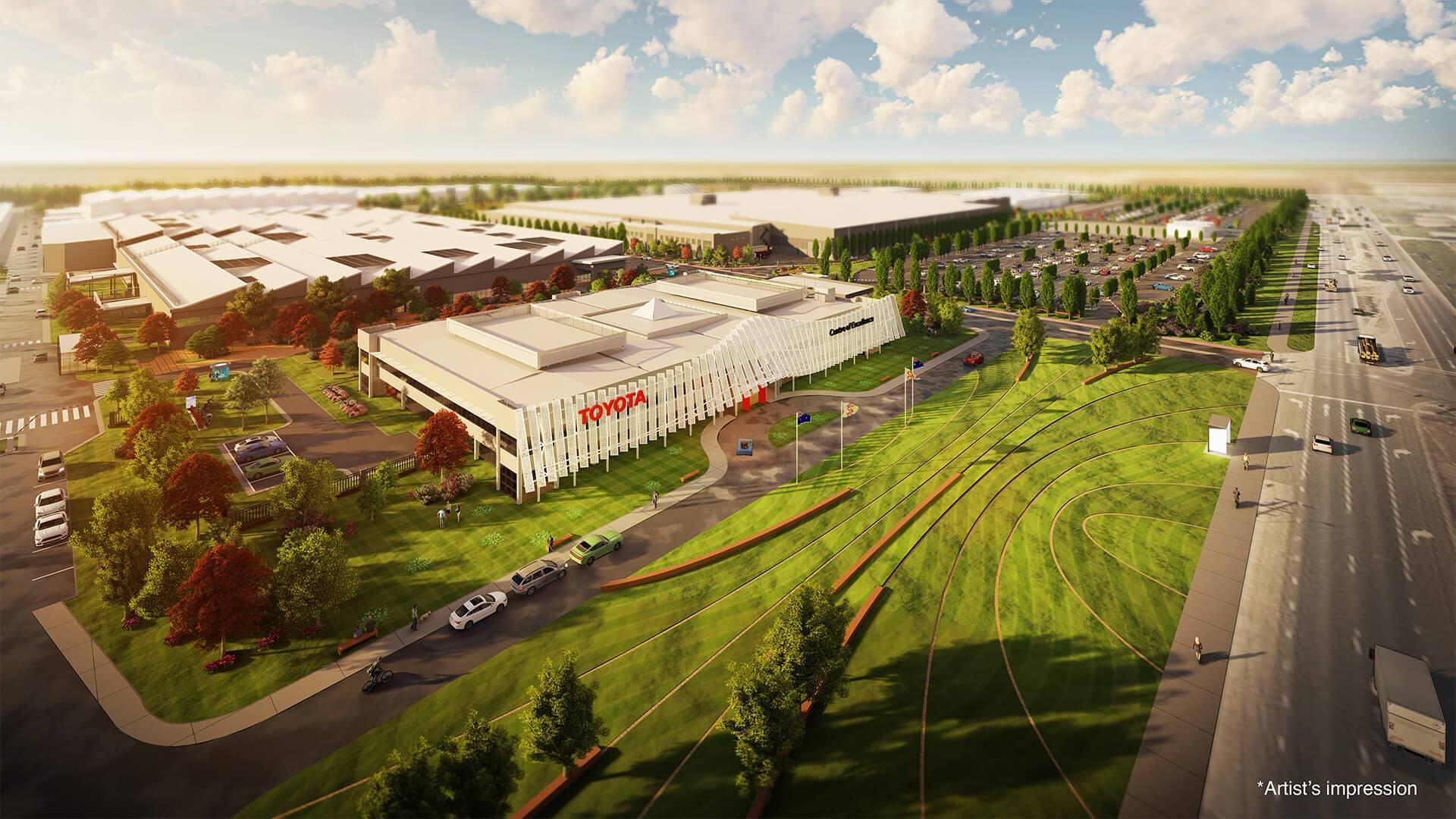 丰田澳大利亚公布建造740万美金氢气中心计划