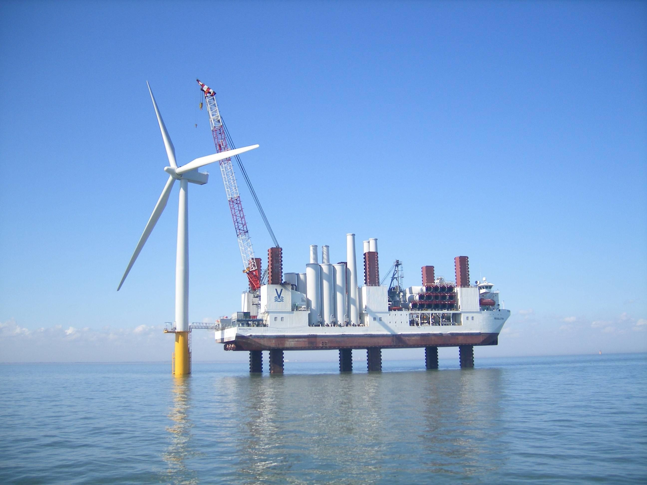 英国海上风电10年内有望实现新增电力装机中成本最低