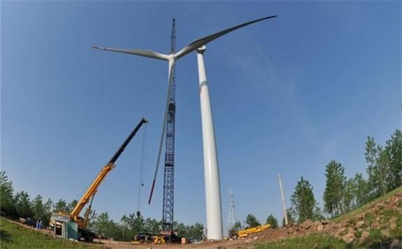 国家能源局公布的数据显示:风电装机同比下降1179%