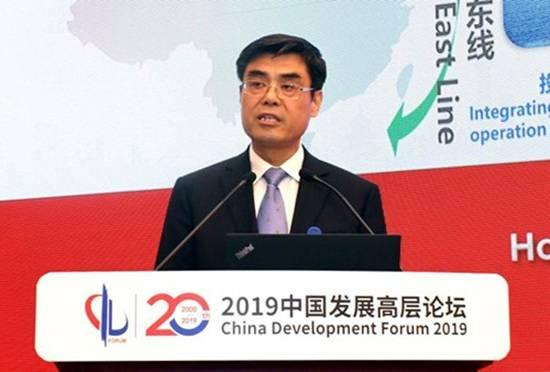"""2019中国发展高层论坛 舒印彪:加快""""再电气化""""进程 构建清洁高效能源体系"""