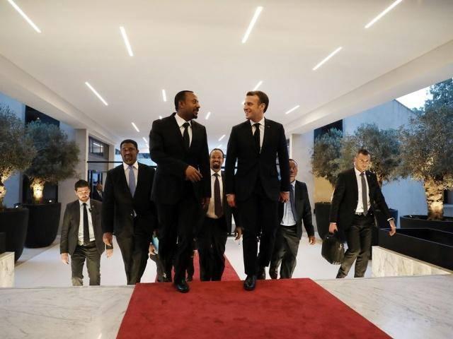 法国承诺到2022年对非洲的商业投资将达到28亿美元