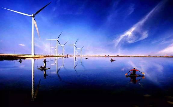 明阳智能风电项目落户湖南千山红镇