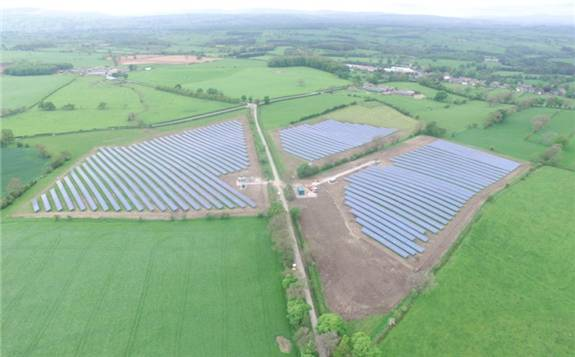 英国计划开发500兆瓦太阳能+储能项目