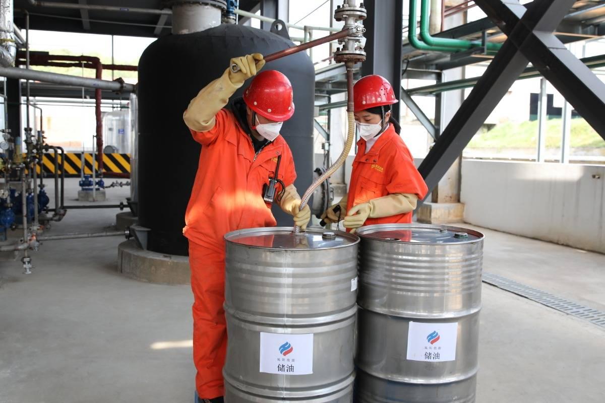 """中国首批氢能""""储油""""在湖北宜都量产"""