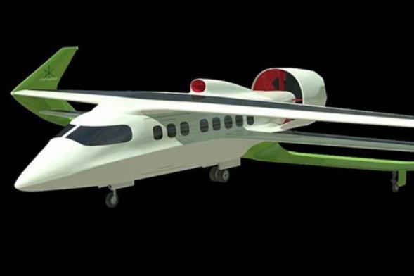 英国公司打造混合动力飞机:生物柴油引擎+太阳能板电池组供电