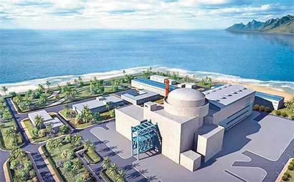 """""""华龙一号""""全球首堆福清核电5号机组倒送电一次成功"""