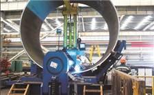 南通蓝岛海洋工程有限公司建造出世界最大直径的风电管桩
