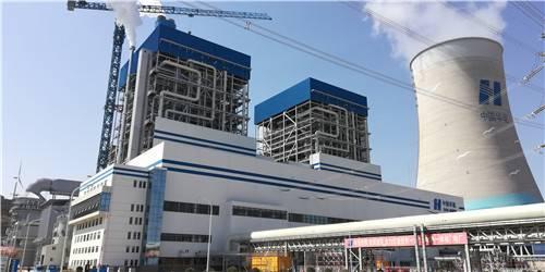 国内首台港电热一体化机组并网发电