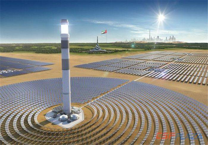 沙特密切关注迪拜950MW光热光伏项目,下阶段招标或再增新光热项目