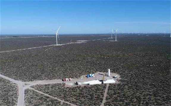 """中国""""大风车""""助力阿根廷能源结构升级"""