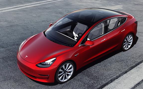 特斯拉Model 3获得了美国新能源车市场销量的第一名