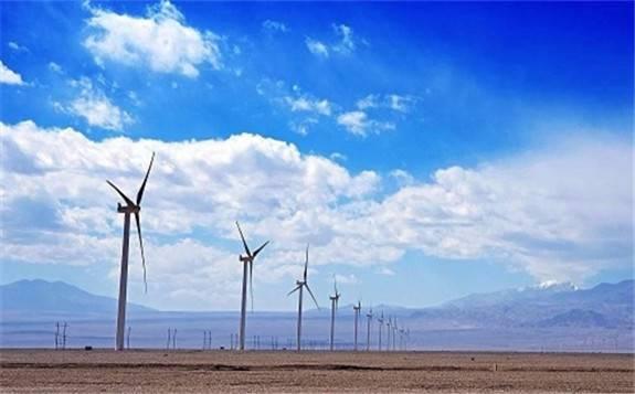 中国能建西北电建阿拉善北控风电升压站反送电完成