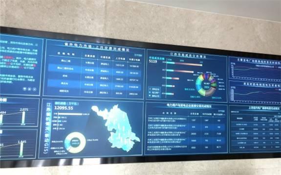 江苏省内三月交易总成交量85.34亿千瓦时。