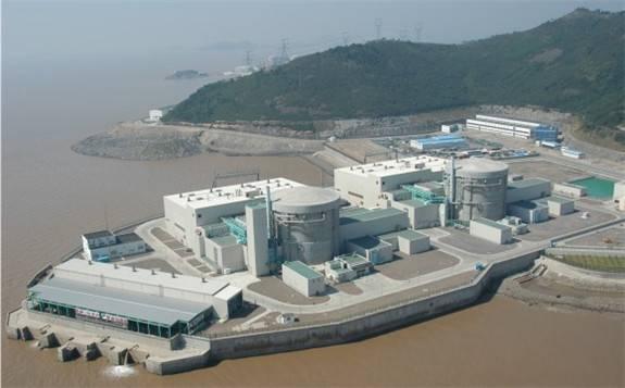 秦山核电站:35万千瓦功率安全稳定运行168小时