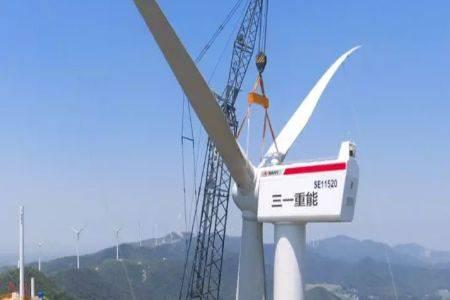 三一重能签署黑龙江汤原县80万千瓦风资源开发协议  总投资额50亿元