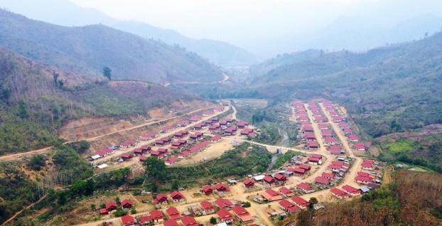 中国水电项目助力打造老挝移民新村