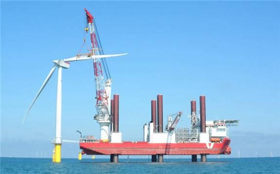 太重集团4000T海上风电施工船开工建造