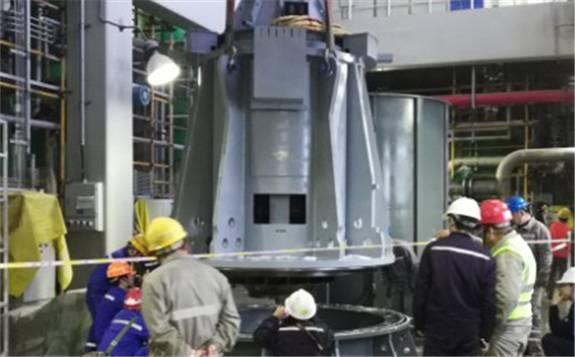 """全球首台四代核电""""心脏""""装备在哈电集团诞生"""