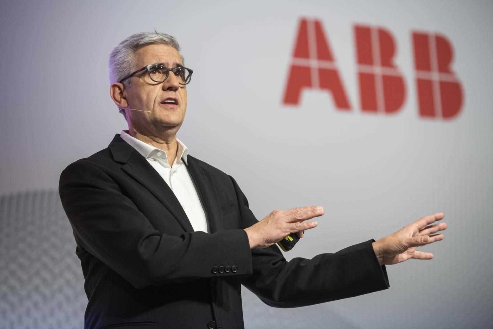 瑞士工业集团ABB CEO Ulrich Spiesshofer离任   Peter Voser将兼任临时CEO