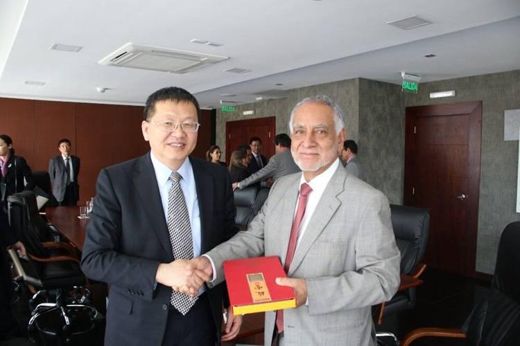 章建华访问厄瓜多尔、阿根廷  推动双边能源合作