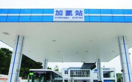 广东石油全国首创利用现有加油站改造为油氢合建站