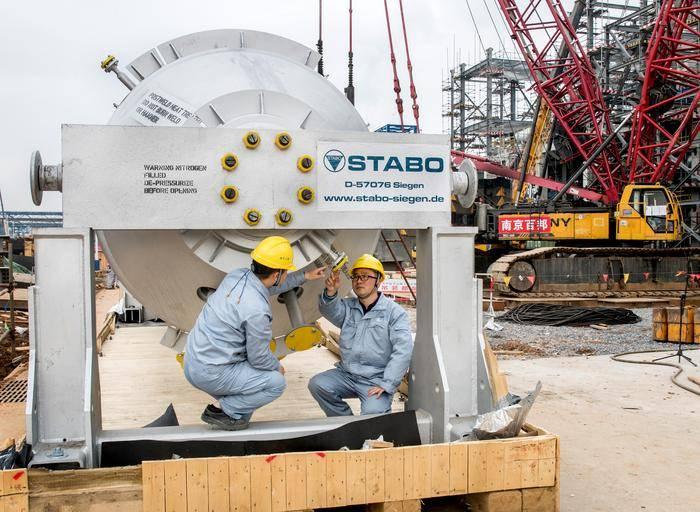 扬子石化10万吨/年EVA项目有序推进