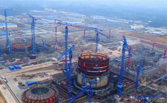 漳州核电站于今年正式开工 项目的一期工程已基本完成四通一平
