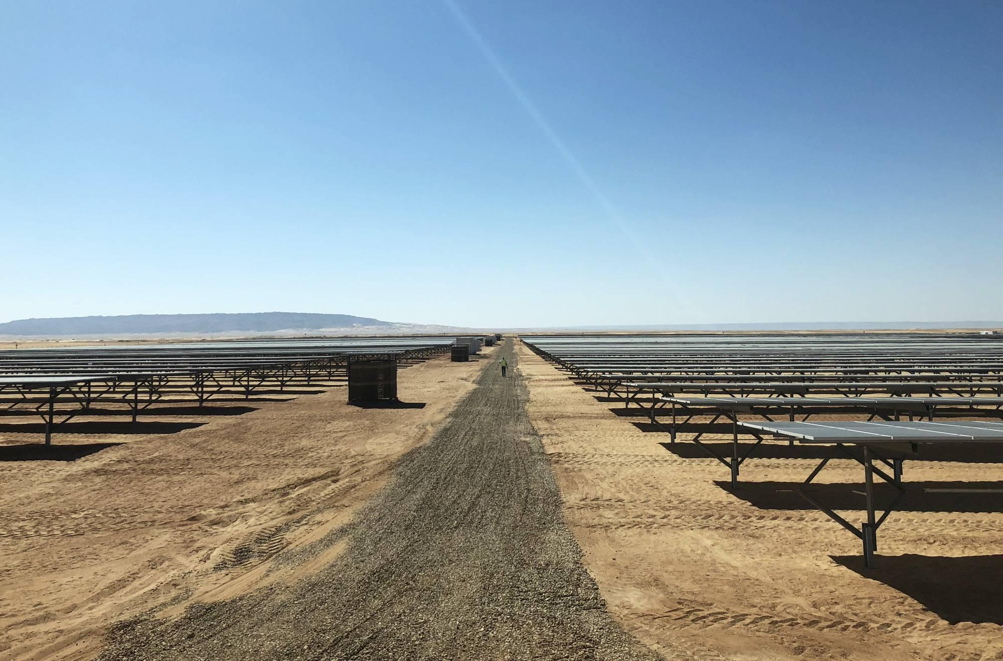 特变电工承建埃及沙漠电站 有望成为世界最大光伏产业园之一