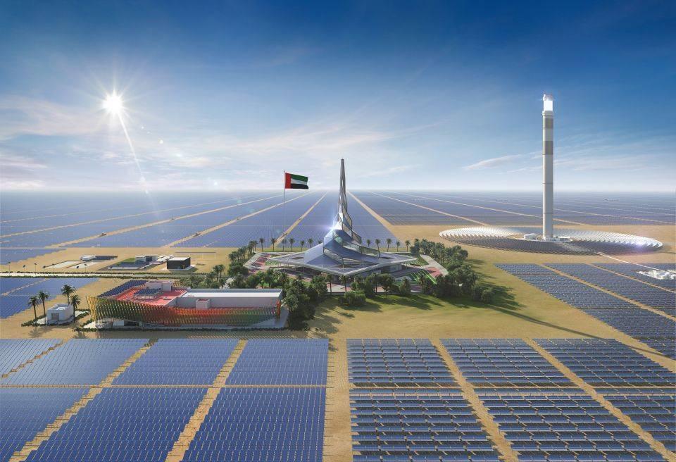 迪拜700MW光热项目创新成果推动行业整体LCOE降至50美金/MWh