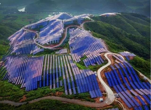 全国最大的集中式光伏电站:芮城光伏领跑基地 耗资88亿绵延80公里