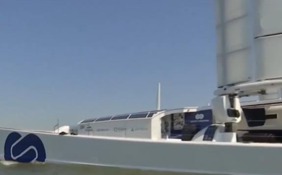 世界上第一艘氢动力船抵达荷兰