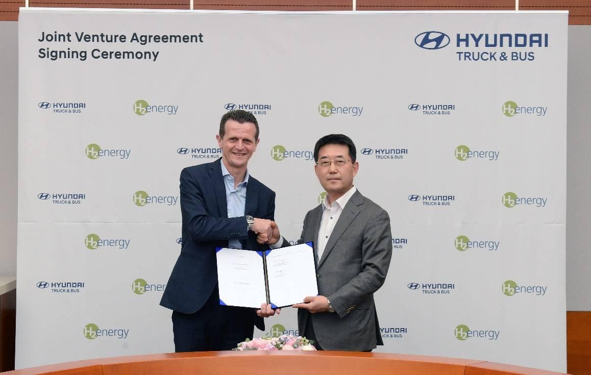 现代汽车和H2 Energy AG组建合资企业,进军欧洲氢能市场