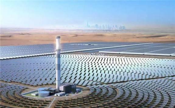 """上海电气""""一带一路""""沿线光热发电项目备受""""瞩目"""""""