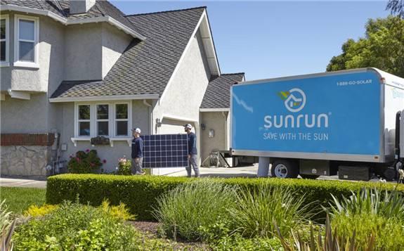 美国领军户用光伏安装商Sunrun一季度装机量超越特斯拉