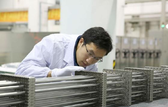 中核集团CF3核燃料元件成功完成批量化制造