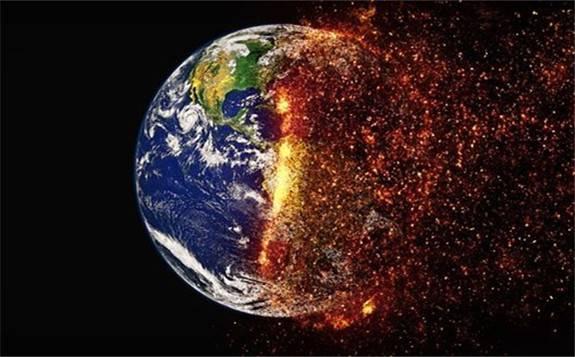 大气中的二氧化碳(CO2)浓度达到了有史以来的最高纪录