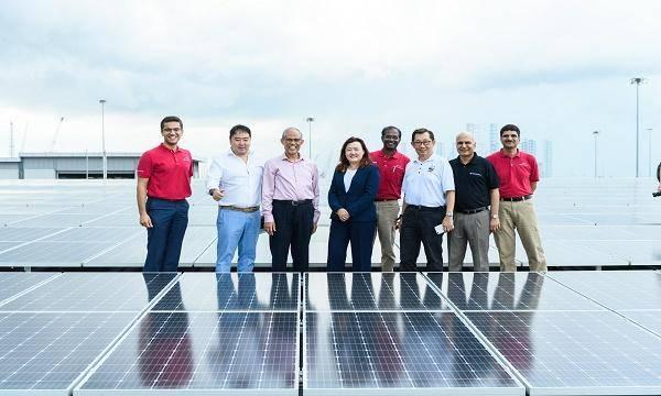 新加坡新型太阳能屋顶装置!7000个光伏电池板供电3.5GW