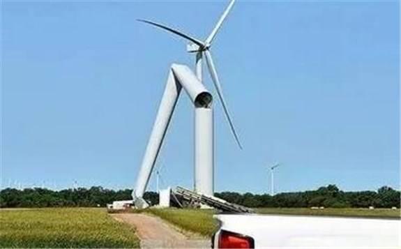 """同一家风电整机商今年发生两次""""倒塔"""""""