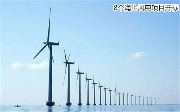关注商机:上半年这8个海上风电项目开标,规模共计2952MW